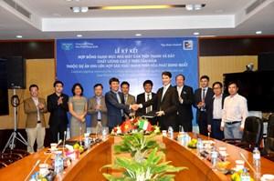 Hòa Phát và Danieli ký hợp đồng cung cấp dây chuyền cán thép cho dự án Dung Quất