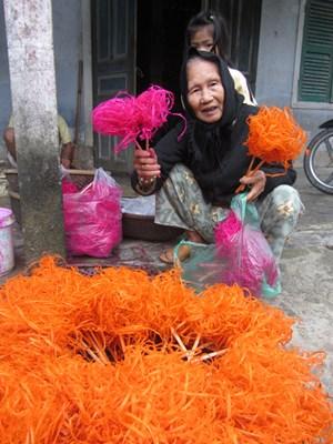 Hoa tre trong lễ cúng đầu năm ở Huế