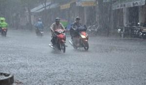 Hoàn lưu áp thấp gây mưa lớn ở Bắc Bộ và Bắc Trung Bộ