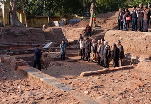 Hoàng Thành Thăng Long mở cửa thăm quan khu khảo cổ mới phát lộ