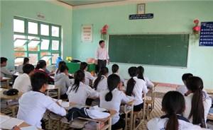 Học sinh vùng động đất tích cực chuẩn bị thi tốt nghiệp
