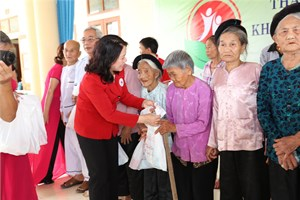 Hội Chữ thập đỏ Việt Nam: Cộng đồng trách nhiệm trợ giúp người nghèo