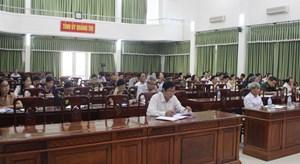 Hội nghị báo cáo viên Ban Tuyên giáo tháng 6