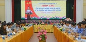 Hội nghị 'Gặp gỡ Nhật Bản - Khu vực Bắc Trung Bộ' sẽ tổ chức tại Nghệ An