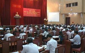 Hội nghị học tập, quán triệt Nghị quyết Đại hội XII của Đảng