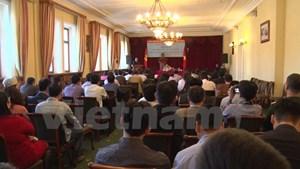 Hội nghị học tập, quán triệt Nghị quyết Trung ương 4 Khóa XII tại Nga
