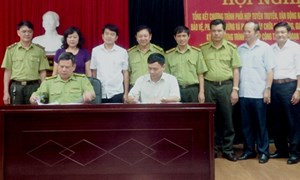 Hội nghị tổng kết công tác vận động nhân dân bảo vệ rừng