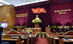 Hội nghị Trung ương 8 hoàn thành toàn bộ chương trình đề ra