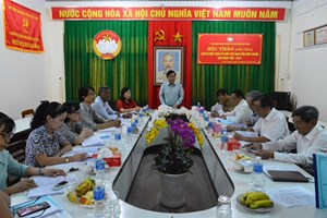 Hội thảo góp ý 'Lịch sử MTTQ tỉnh Ninh Thuận, giai đoạn 1930 – 2010'