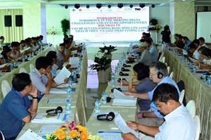 Hội thảo về sụt lún tại đồng bằng sông Cửu Long