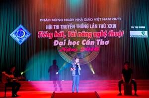 Hội thi 'Tiếng hát, tài năng nghệ thuật Đại học Cần Thơ, 2016'