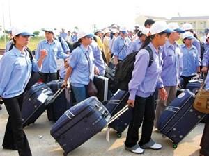 Hơn 13.000 lao động đi làm việc ở nước ngoài tháng 6/2017