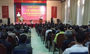 Hơn 200 thí sinh dự Thi tay nghề TP Hà Nội năm 2016