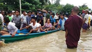 Hơn 50.000 người Myanmar sơ tán vì vỡ đập