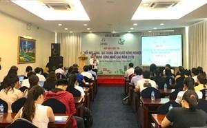TP HCM: Thi 'Đổi mới sáng tạo trong sản xuất nông nghiệp ứng dụng công nghệ cao'