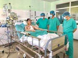 Huế: Thêm một ca ghép tim 'xuyên Việt' thành công
