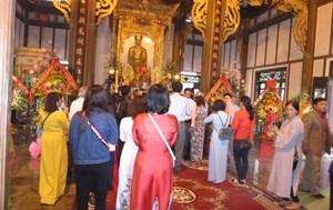 Huế: Tưởng nhớ công đức Phật hoàng Trần Nhân Tông và công chúa Huyền Trân
