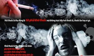 Hút thuốc lá thụ động: Nỗi ám ảnh nơi công cộng