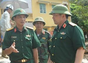 Huy động các Quân khu giúp dân sau mưa lũ