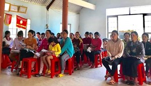 Huyện Krông Pắc (Đắk Lắk):Tuyên truyền kiến thức pháp luật cho cán bộ, hội viên phụ nữ