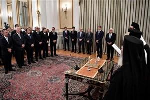 Quốc hội mới của Hy Lạp tuyên thệ nhậm chức