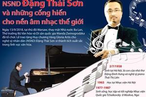 [Infographics] Những thành tựu âm nhạc của NSND Đặng Thái Sơn