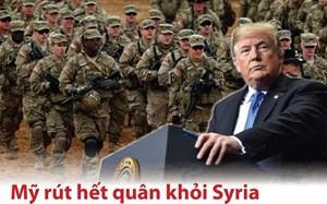 [Infographics] Phản ứng của các nước khi Mỹ rút quân khỏi Syria