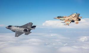 Israel không kích các mục tiêu quân sự của Syria