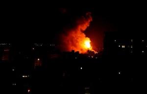 Israel tiếp tục không kích đáp trả các mục tiêu Hamas ở Gaza