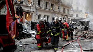 Ít nhất 50 người thương vong trong vụ nổ tiệm bánh ở Paris