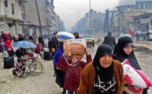 Kế hoạch sơ tán thường dân Aleppo bất ngờ bị hoãn