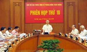 Kết luận của Tổng Bí thư Nguyễn Phú Trọng về phòng, chống tham nhũng