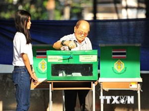 Kết quả thăm dò dư luận bầu cử Thái Lan: Đảng Vì nước Thái dẫn đầu