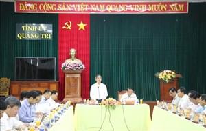 Đoàn công tác Trung ương làm việc tại Quảng Trị