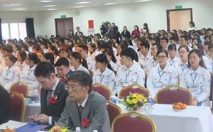 Khai giải lớp đào tạo 240 điều dưỡng viên, hộ lý sang làm việc tại Nhật Bản