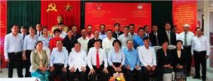 Khai giảng khóa bồi dưỡng ngắn hạn cho cán bộ Mặt trận Lào