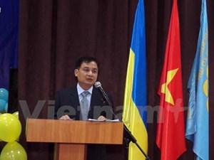 Khai giảng lớp học tiếng Việt tại thủ đô Kiev của Ukraine