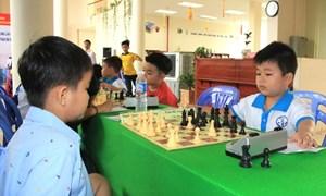 Khai mạc giải cờ vua Đại hội TDTT Đồng bằng sông Cửu Long lần thứ VII