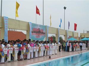 Khai mạc Giải vô địch bơi, lặn các nhóm tuổi toàn quốc năm 2017