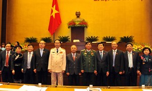 Quốc hội quyết định một số nhân sự cấp cao
