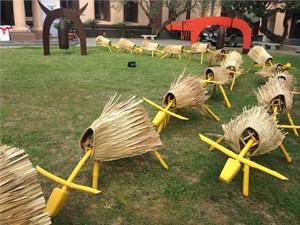 Khai mạc triển lãm điêu khắc tiếng động đầu tiên ở Việt Nam
