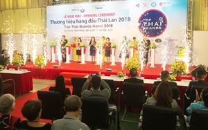Khai mạc Triển lãm Thương hiệu hàng đầu Thái Lan 2018 tại Hà Nội