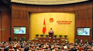 Khai mạc trọng thể kỳ họp thứ 10 Quốc hội khóa XIII: Trách nhiệm trước Đảng, trước Dân