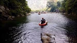 Khai thác thử nghiệm tuyến du lịch Hóa Sơn – hang Rục Mòn