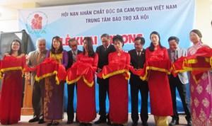 Khai trương Trung tâm bảo trợ xã hội cho nạn nhân chất độc da cam