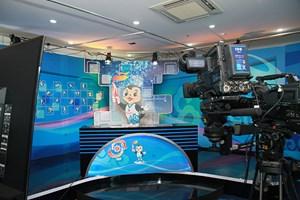 Khai trương trung tâm truyền thông Đại hội thể thao bãi biển