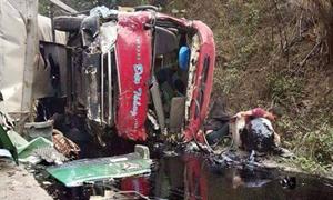 Khẩn trương khắc phục hậu quả vụ tai nạn tại Hòa Bình