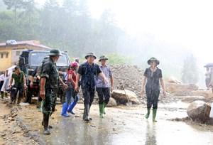 Khẩn trương tìm kiếm người mất tích do lũ quét tại Yên Bái