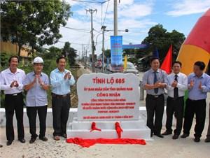Khánh thành nâng cấp, mở rộng tuyến đường nối Quảng Nam – Đà Nẵng