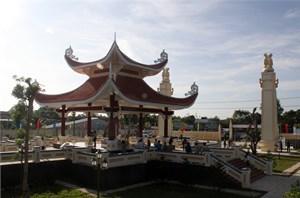 Khánh thành đền thờ Châu Văn Liêm tại huyện Thới Lai